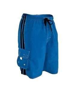 RISE Solid Splice Board Short - Color - Royal/Black,Size - Small