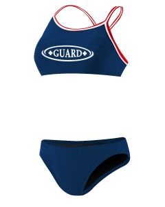 Rise Guard Poly Tri Color Bikini