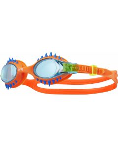 TYR Kids' Swimple Spike Goggles-Blue/Orange