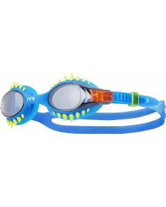 TYR Kids' Swimple Spike Goggles-Smoke/Blue
