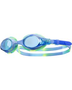 TYR Kid's Swimple Tie Dye Goggle - Color - Blue/Green