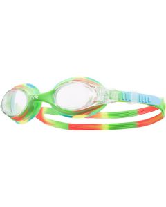 TYR Kid's Swimple Tie Dye Goggle - Color - Green/Orange