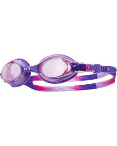 TYR Kid's Swimple Tie Dye Goggle - Color - Pink/Purple