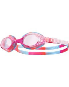 TYR Kid's Swimple Tie Dye Goggle - Color - Pink/White