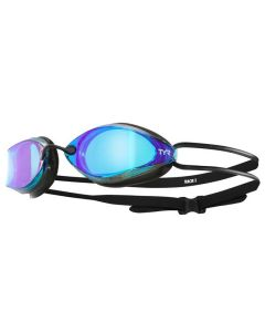 TYR Tracer X Racing Mirrored Goggles-Blue/Black