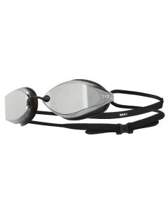 TYR Tracer X Racing Mirrored Goggles-Silver/Black