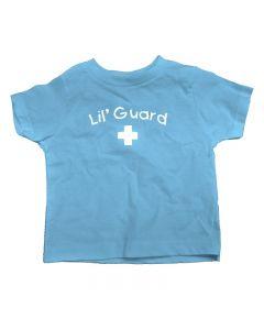 Little Guard Toddler Tee - Color - Light Blue,Size - 3T