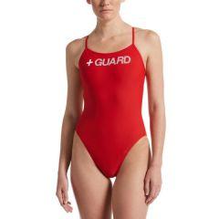 Women's Nike Swim Guard Cut-Out One Piece