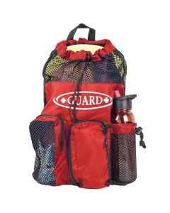 RISE Guard Mesh Equipment Bag - Color - Red/Black