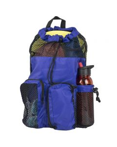 RISE Solid Mesh Equipment Bag-Navy/Black