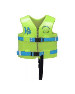 Super Soft Children's Vests-Lime-Youth XSmall