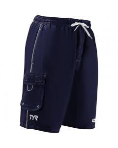 TYR Guard Men's Challenger Swim Short-Navy-Small