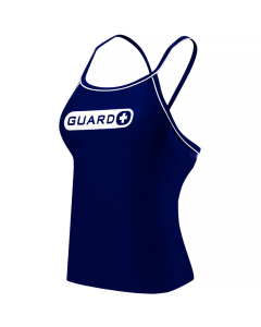 TYR Guard Women's Durafast One Tankini-Navy-XSmall