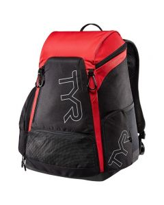 TYR Alliance 30L Backpack-Black/Red-No