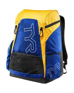 TYR Alliance 45L Backpack-Royal/Gold-No