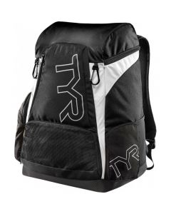 TYR Alliance 45L Backpack-Black/White-No