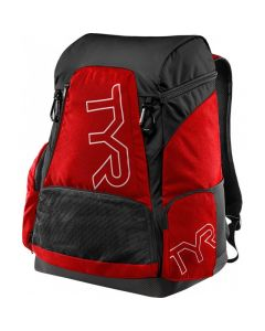 TYR Alliance 45L Backpack-Red/Black-No