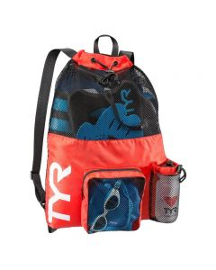 TYR Big Mesh Mummy Backpack - Color - Red