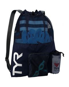 TYR Big Mesh Mummy Backpack - Color - Navy