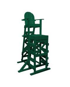 Tailwind X-Tall Lifeguard Chair w/ Side Step -Green