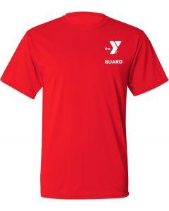 YMCA Guard Dri-Fit Tee-Red-Small