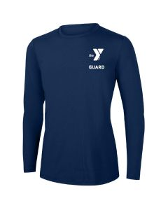 YMCA Guard Long Sleeve Rashguard 2604-Navy-XSmall