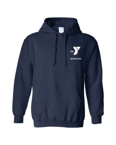 YMCA Instructor Sweatshirt-Navy-Small