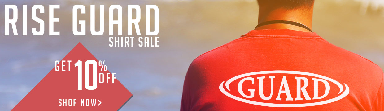 Guard Shirt Sale 10% off