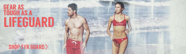 Gear as tough as a lifeguard. Shop TYR Guard.