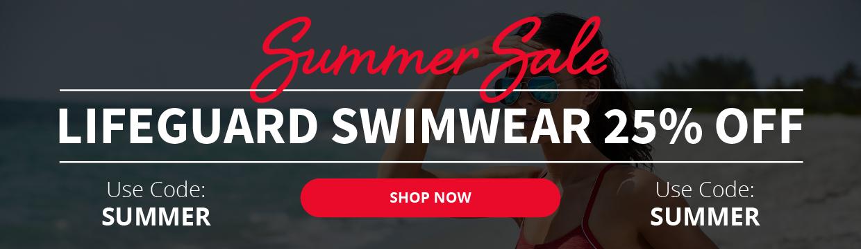 25% OFF Lifeguard Swimwear | Use Code SUMMER