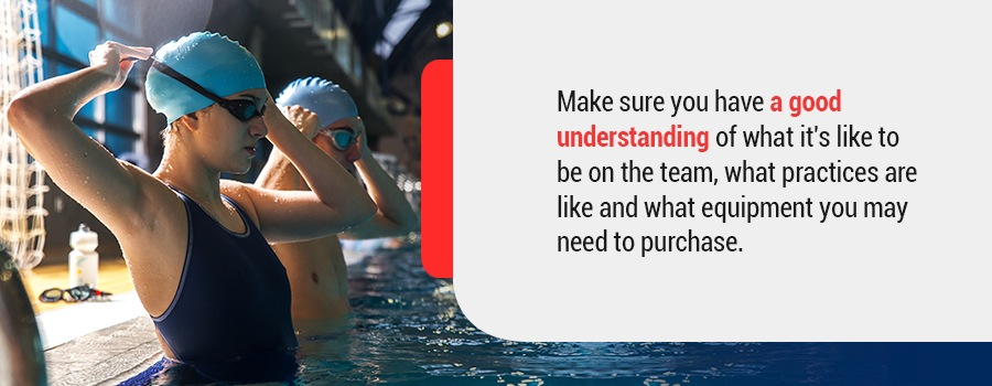 Make sure you also have a good understanding of what it's like to be on the team